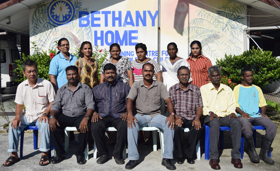 Bethany Home Support Staff